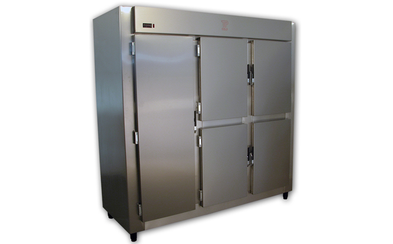 Refrigerated storing place Blind INOX Cabin