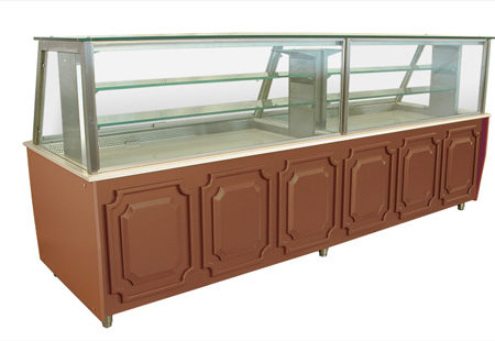 Refrigerated Counter Display Case / TRANSPARENT