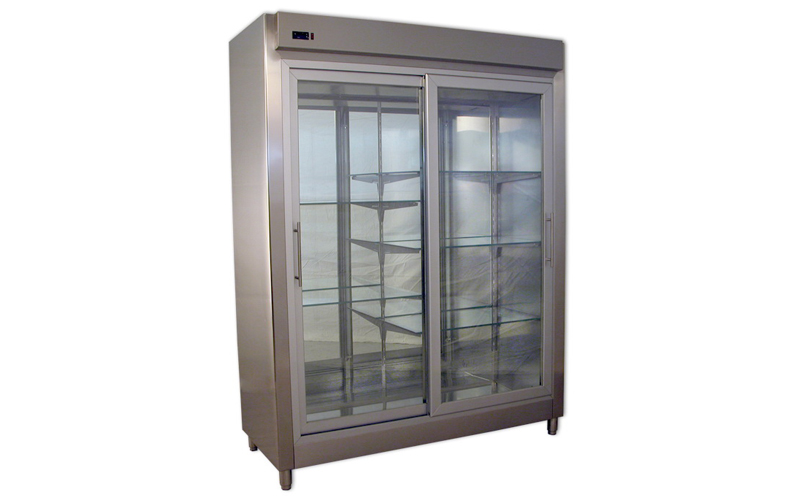 Refrigerated Counter Display Case for Flower Shop