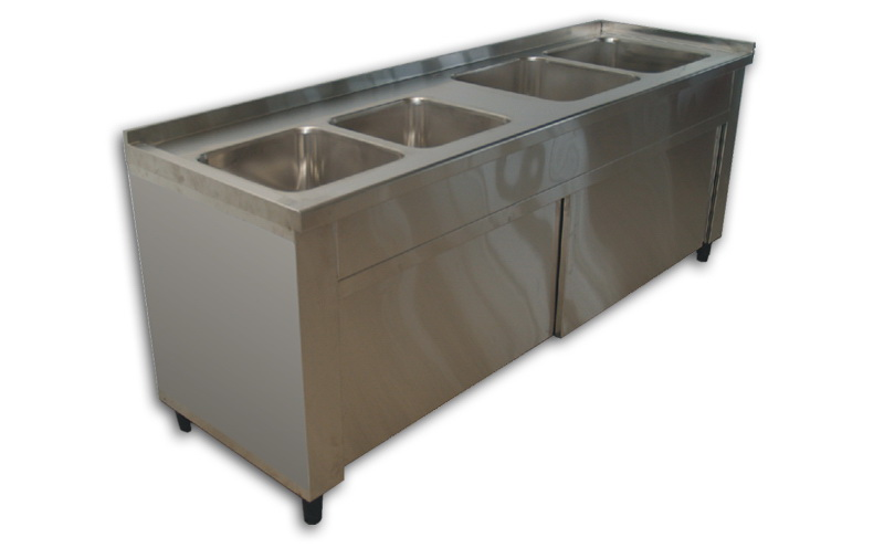 Laboratory dish washing Open / Closed Stainless