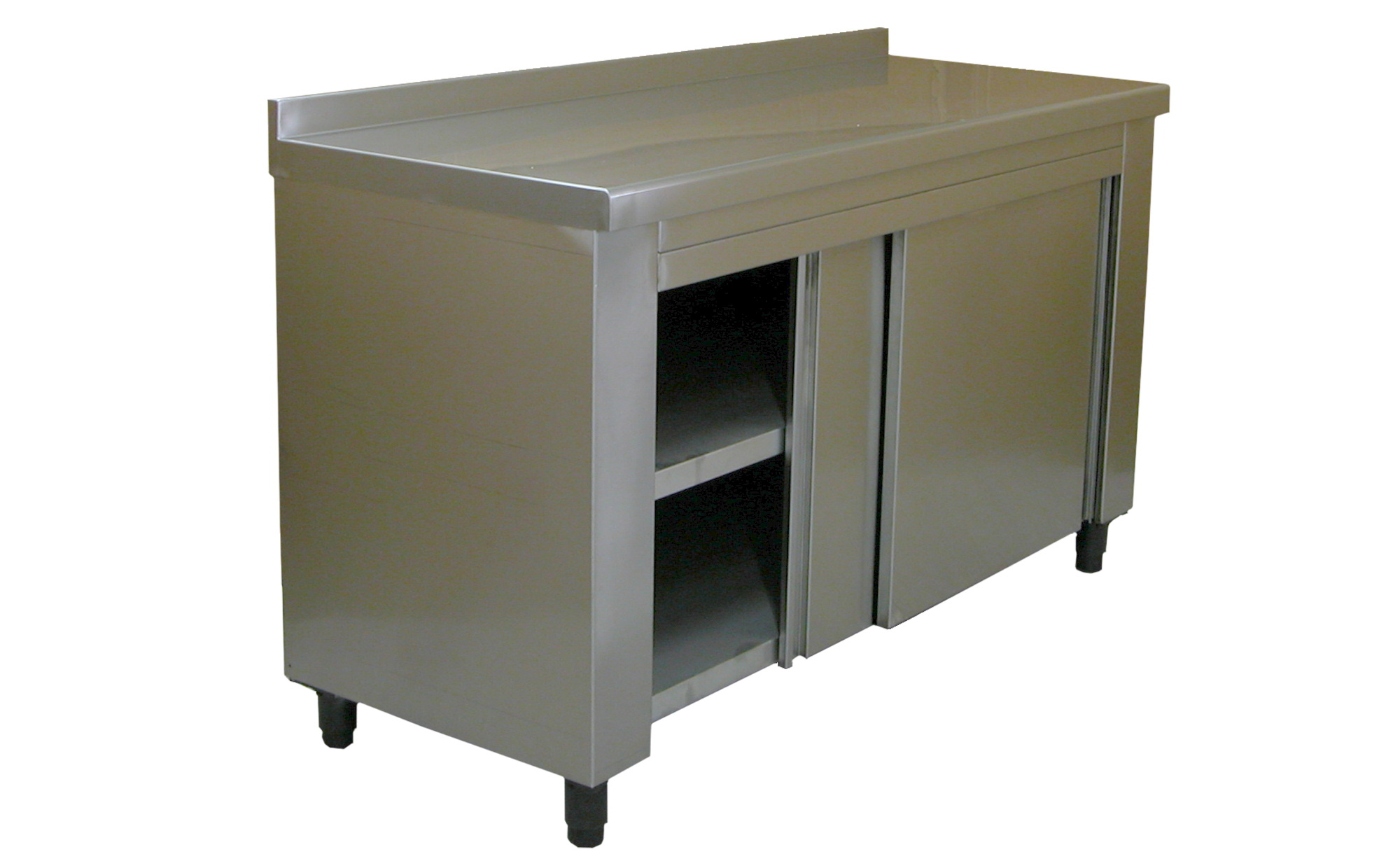 Cabinet Workbench Closed Stainless