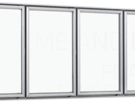 Ανοιγόμενες Πόρτες Αλουμινίου για Self Service