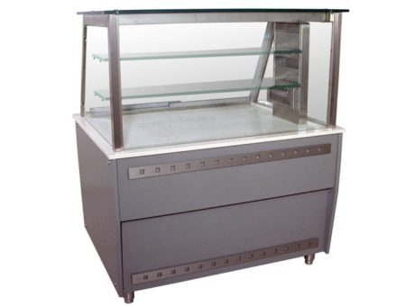 Warmer Counter Display Case / TRANSPARENT